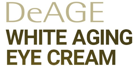 DeAge White Aging Eye Cream text